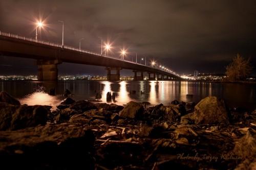 Саратов под мостом