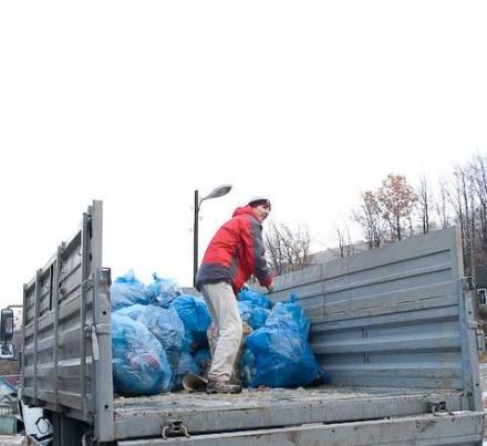 Погрузка мусора