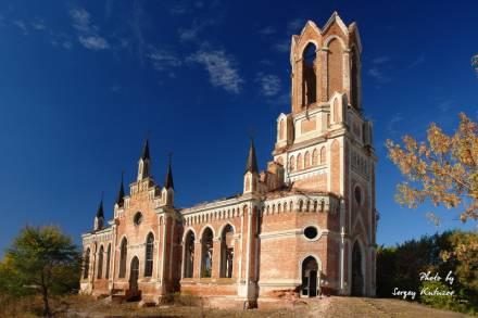 Лютеранская церковь в Каменке
