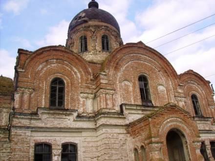 покровская церковь в селе Сокур татищевского района