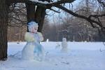 Снеговики захватили Кумыску!