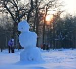 Дремлющий снеговик