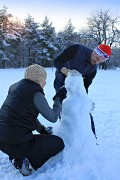 Как рождаются Снеговики на Кумыске